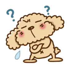 Putaro the Poodle sticker #458370