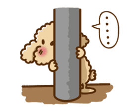 Putaro the Poodle sticker #458371