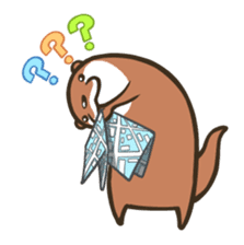 Kotsumetti of Small-clawed otter 02 sticker #458663