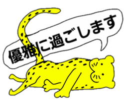 mascot character animala sticker #459112