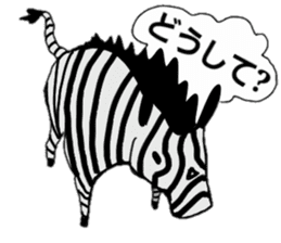 mascot character animala sticker #459123