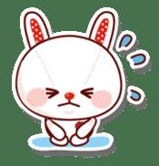The stuffed animal of a rabbit sticker #459354
