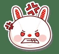 The stuffed animal of a rabbit sticker #459357