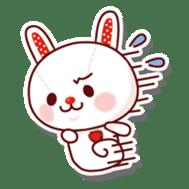 The stuffed animal of a rabbit sticker #459360