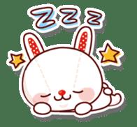 The stuffed animal of a rabbit sticker #459362