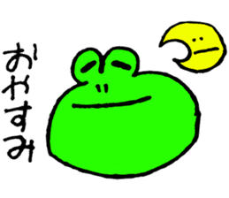 Frog&friends sticker #459748