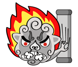 fuku lion sticker #460702