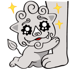fuku lion sticker #460707