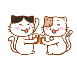 Every day of a cat sticker #460737