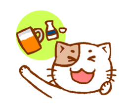 Every day of a cat sticker #460752