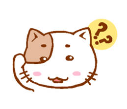 Every day of a cat sticker #460755
