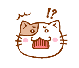 Every day of a cat sticker #460758