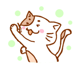 Every day of a cat sticker #460761