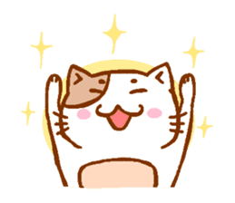 Every day of a cat sticker #460762