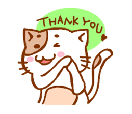 Every day of a cat sticker #460774