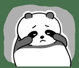Mr. Panda sticker #460897