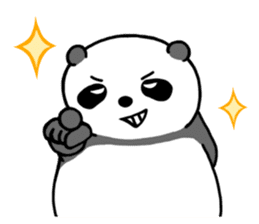 Mr. Panda sticker #460900