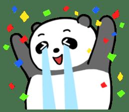 Mr. Panda sticker #460901