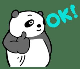 Mr. Panda sticker #460903