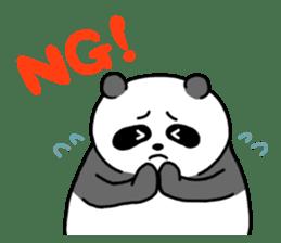 Mr. Panda sticker #460904