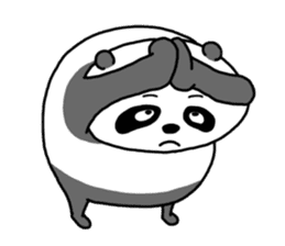 Mr. Panda sticker #460908