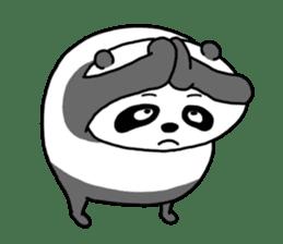 Mr. Panda sticker #460908