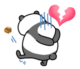 Mr. Panda sticker #460912