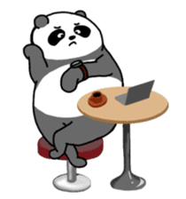 Mr. Panda sticker #460917