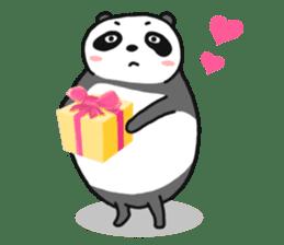 Mr. Panda sticker #460920