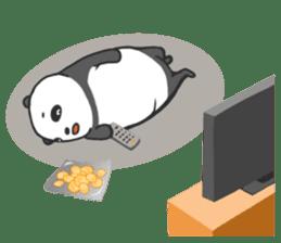 Mr. Panda sticker #460922