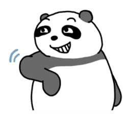 Mr. Panda sticker #460926