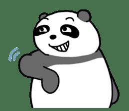 Mr. Panda sticker #460926