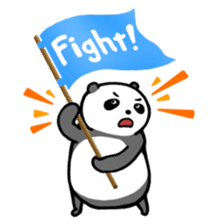 Mr. Panda sticker #460927