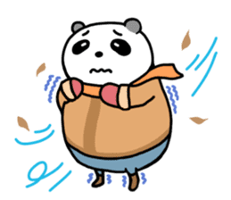 Mr. Panda sticker #460928