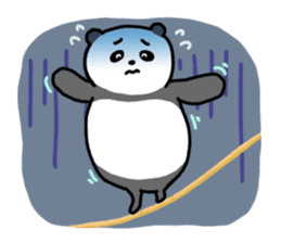 Mr. Panda sticker #460931
