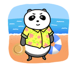 Mr. Panda sticker #460933