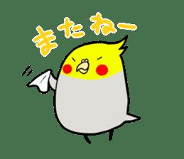GOMA of a Cockatiel sticker #461148