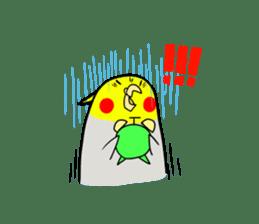 GOMA of a Cockatiel sticker #461154
