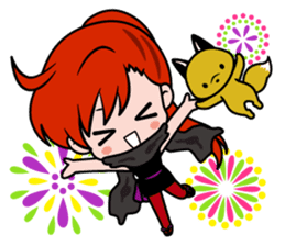 Female ninja Anne sticker #461283