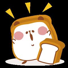 The panda of bread