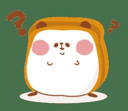 The panda of bread sticker #461615