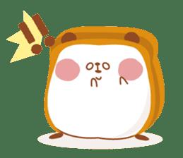 The panda of bread sticker #461616