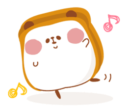 The panda of bread sticker #461617