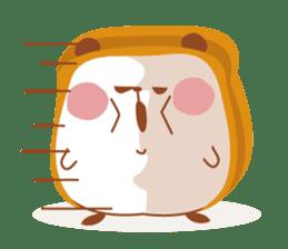 The panda of bread sticker #461619