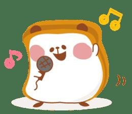 The panda of bread sticker #461620