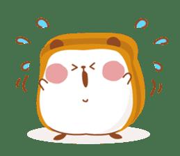 The panda of bread sticker #461624