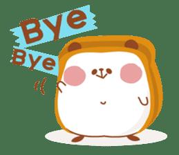 The panda of bread sticker #461627