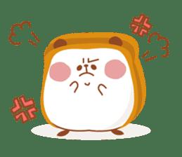 The panda of bread sticker #461628