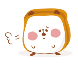 The panda of bread sticker #461630