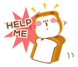 The panda of bread sticker #461631